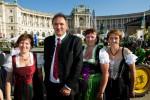 Der Vorstand der Wiener Gärtnerinnen mit LK Präsident Ing. Franz Windisch